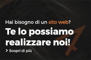 Banner creazione siti web